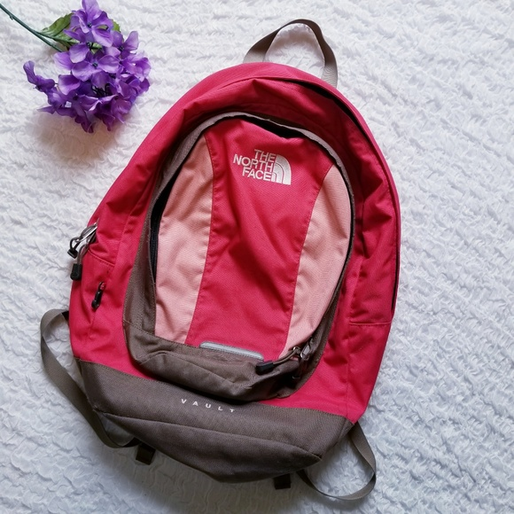 ea2c3d361 The North Face Pink Vault Backpack Day Pack. M_5b7a4f0a9fe4865ef3f92896